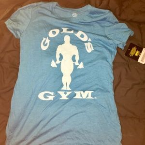Blue Golds Gym Teeshirt New With Tags